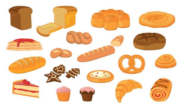 各種パンフラットベクターコレクション - パン屋点のイラスト素材/クリップアート素材/マンガ素材/アイコン素材