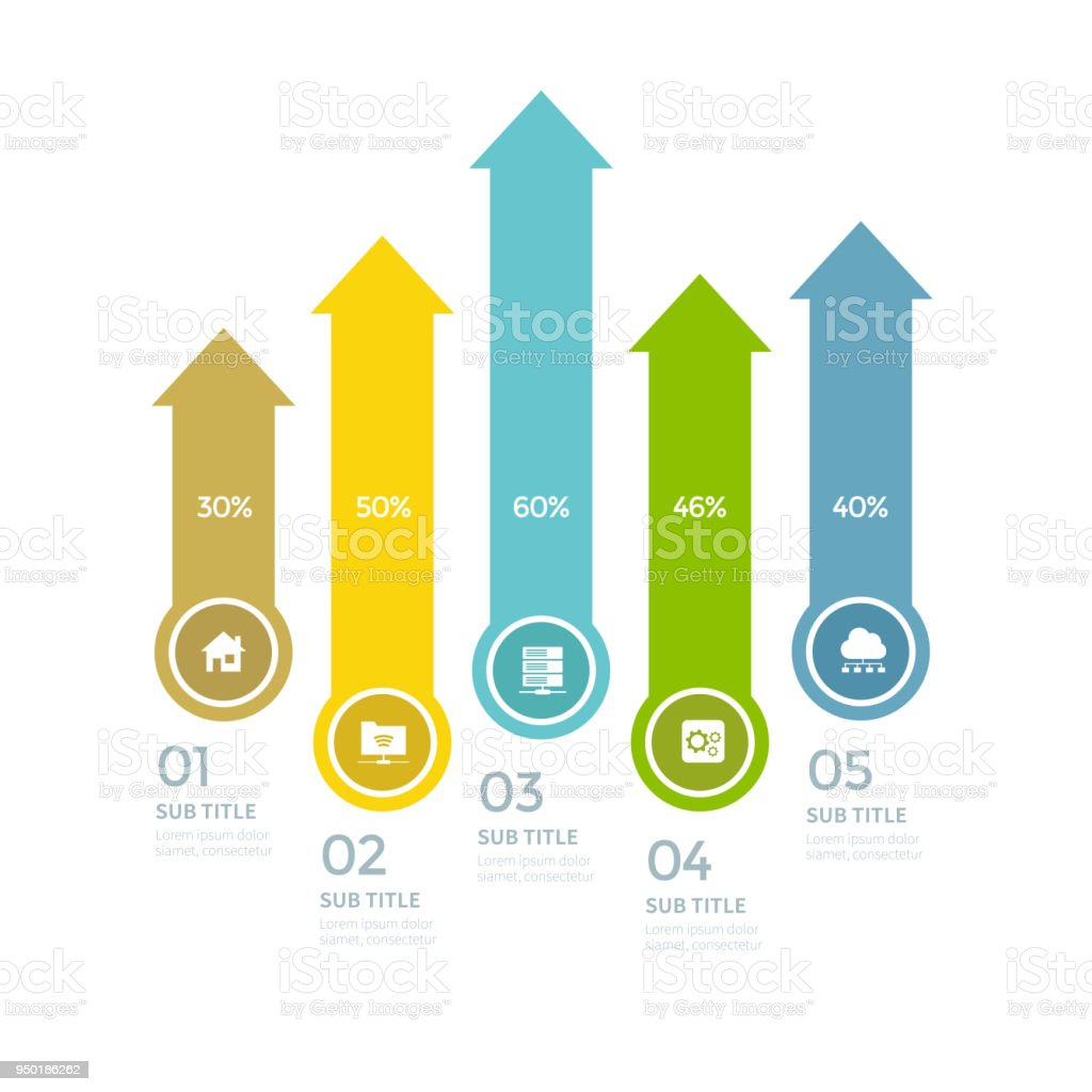 various business infographic infographic chart vector infographic