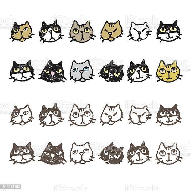 Various cats face expression vector id542213160?b=1&k=6&m=542213160&s=612x612&h=3r nspdqbvbj9rtxxyyst59povmuj1wuj44qji6rxpc=