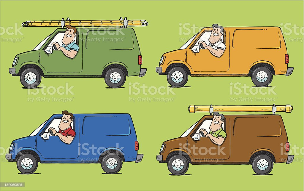 various contractors royalty-free various contractors stock vector art & more images of building contractor