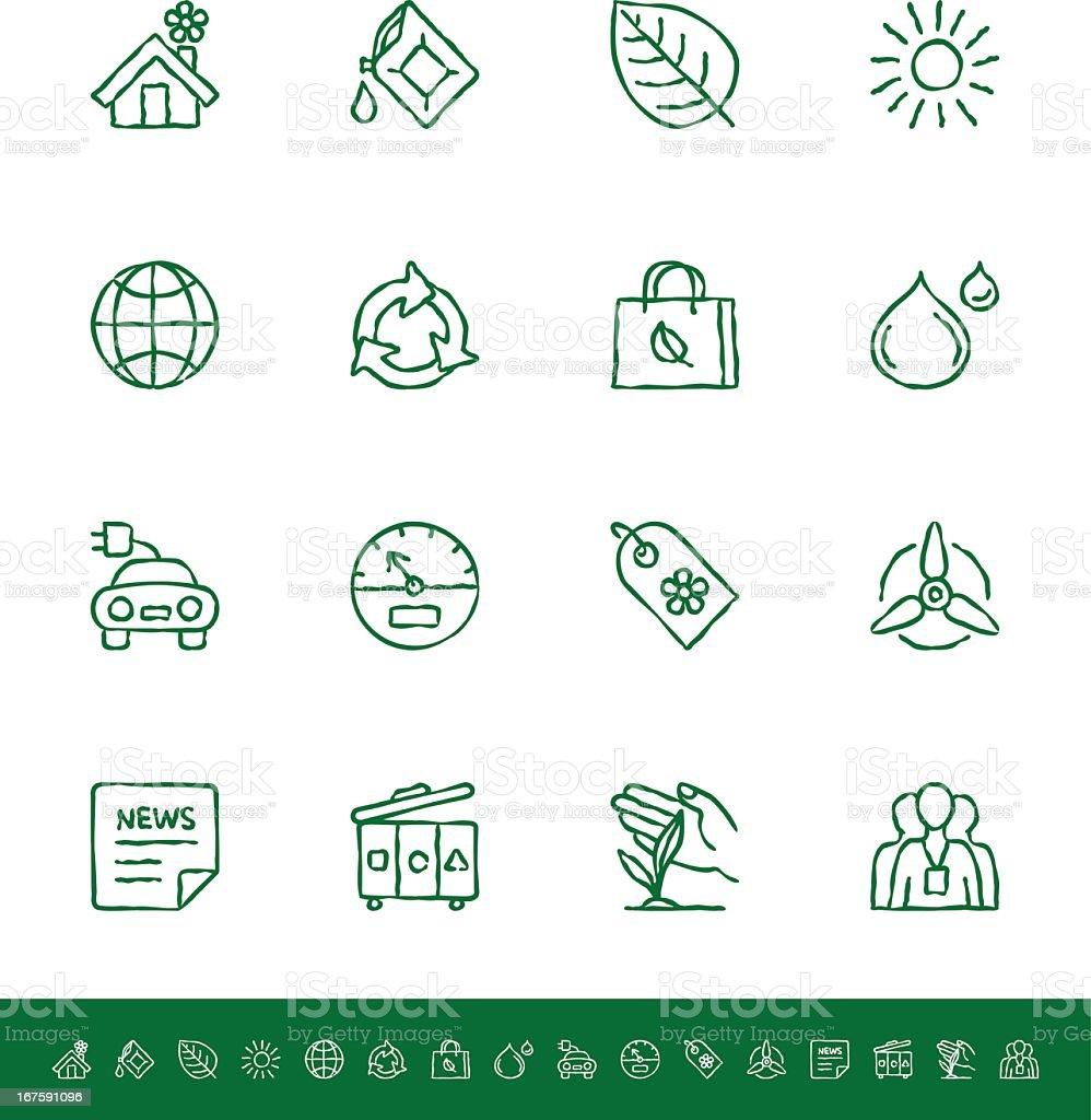 Ökologie – Vektorgrafik