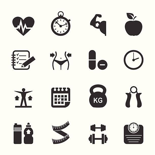 ilustraciones, imágenes clip art, dibujos animados e iconos de stock de icono de medicina - medicina del deporte