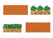 Various kinds of stone wall for garden