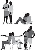 Various poses of couplehttp://www.twodozendesign.info/i/1.png