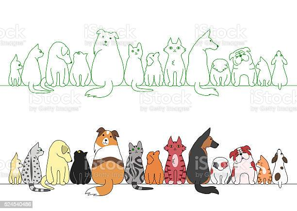 Various posing dogs and cats in a row vector id524540486?b=1&k=6&m=524540486&s=612x612&h=hk5wgszabboivopb5cx66mlvvuyu6pp9vevtadpbl m=