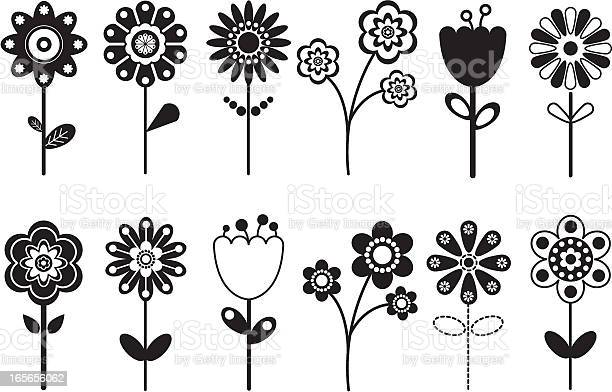 Free black and white flowers stock photos and royalty free
