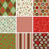 "A collection of greeting patterns.  All design are seamless and ""pattern swatches"" included in file, for your convenient use."