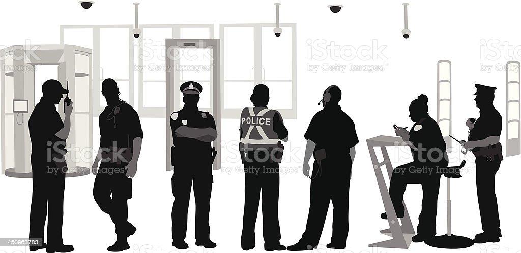 Various Security vector art illustration