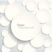 Blank circles background, design illutration.