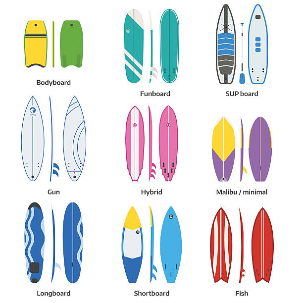 royalty free surfboard clip art vector images. Black Bedroom Furniture Sets. Home Design Ideas