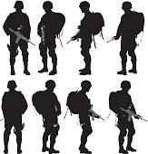 Various views of soldier