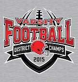 Varisty football t-shirt graphic
