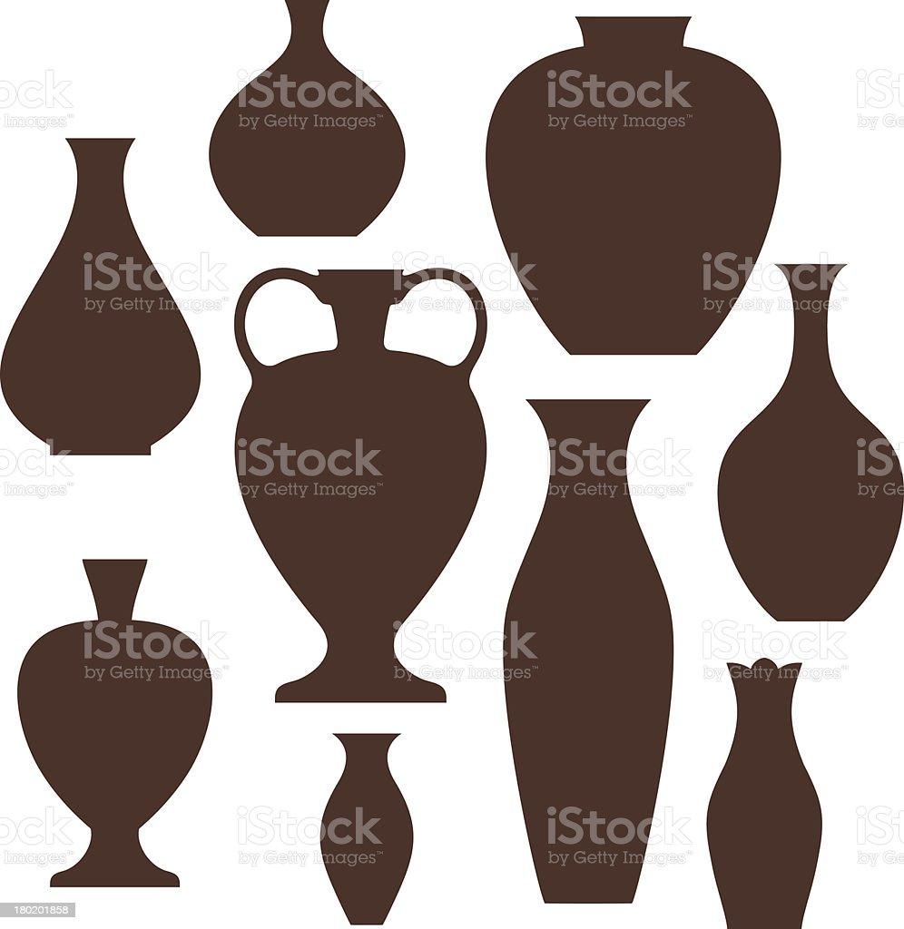 Vase royalty-free stock vector art