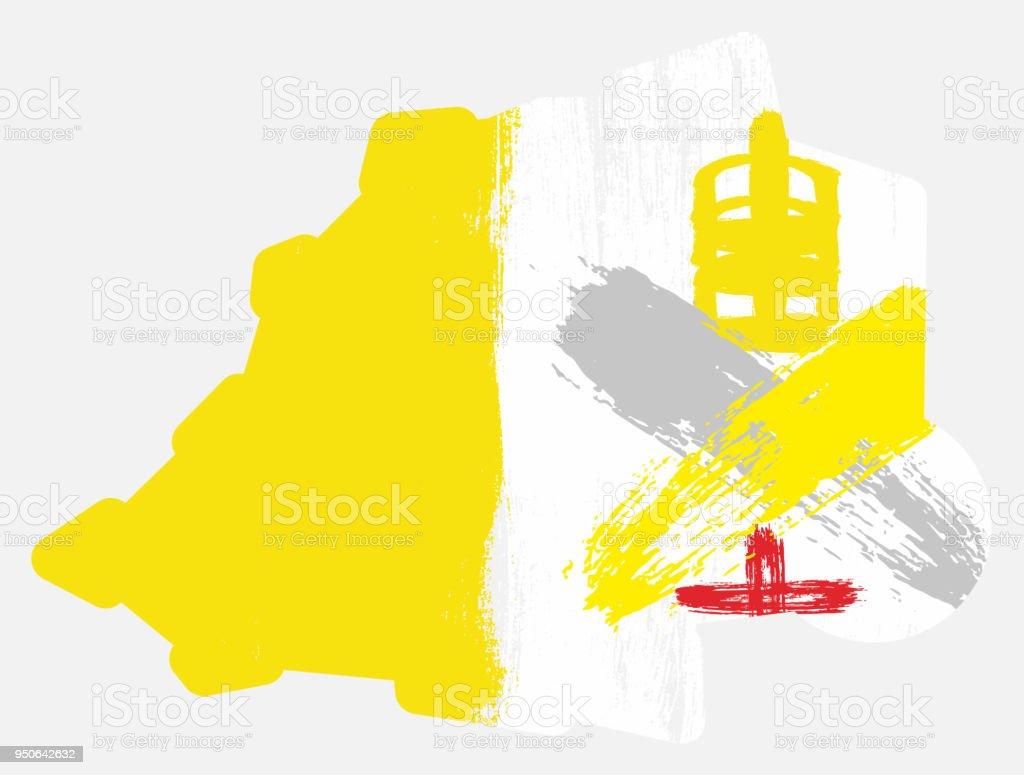バチカン 市 国 国旗