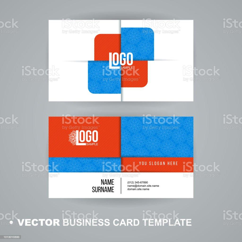 Vecrot Modle De Carte Visite Style Moderne Abstrait Luxe Pour Entreprise