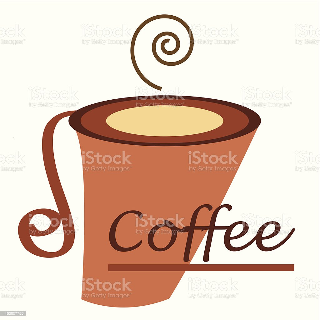 vecto coffee cup royalty-free vecto coffee cup stock vector art & more images of abstract