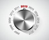 Vector 2012 New Year card