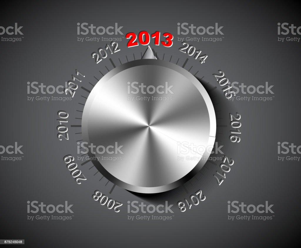 Vector 2013 New Year card vector art illustration