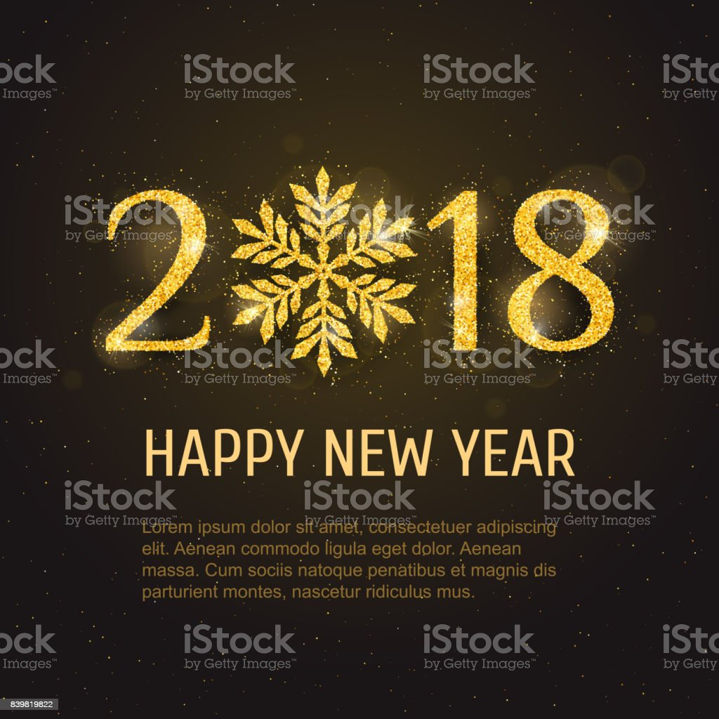 Vector 2018 happy new year greeting card stock vector art more vector 2018 happy new year greeting card royalty free vector 2018 happy new year greeting m4hsunfo