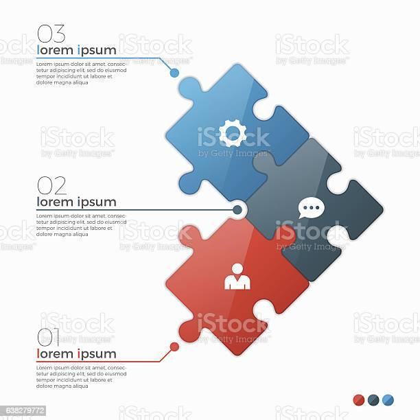 Vector 3 options infographic template with puzzle sections vector id638279772?b=1&k=6&m=638279772&s=612x612&h=ogg l1phua3an2507wrvqbufkf c0txtu9behgszpre=