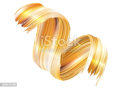 929915344istockphoto Vector 3D Paint Curl. Abstract Spiral Brush Stroke. Flowing Ribbon Shape. Digital Liquid Ink. Dynamic Artistic Wave. Isolated Background Design. Acrylic Splash Ribbon. Calligraphic Brushstroke Loop. 929915766