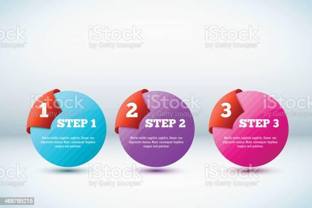 Fundo De Progresso De Vetor 3d - Arte vetorial de stock e mais imagens de A Escada do Sucesso