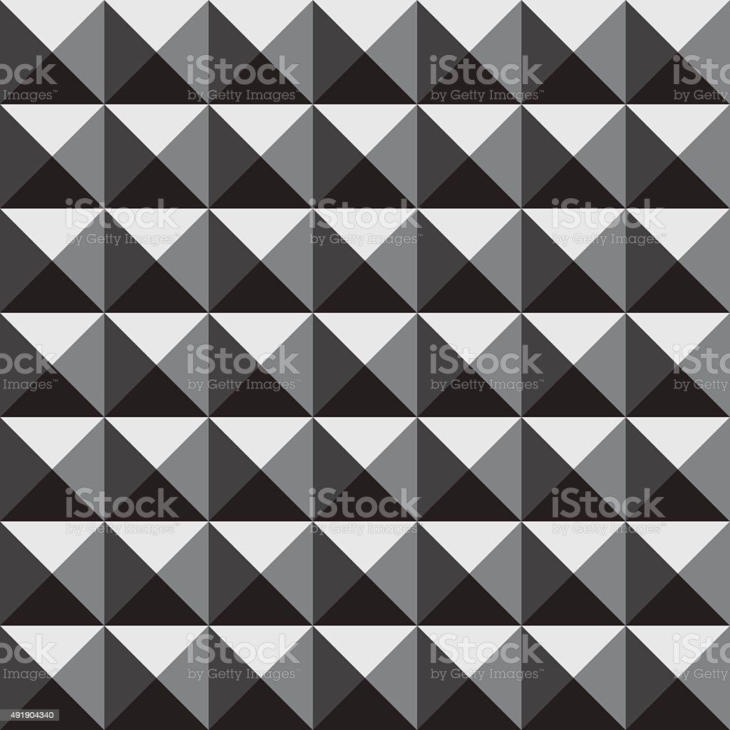 Vector 3d Pyramid Pattern Stock Vector Art & More Images of 2015 ...
