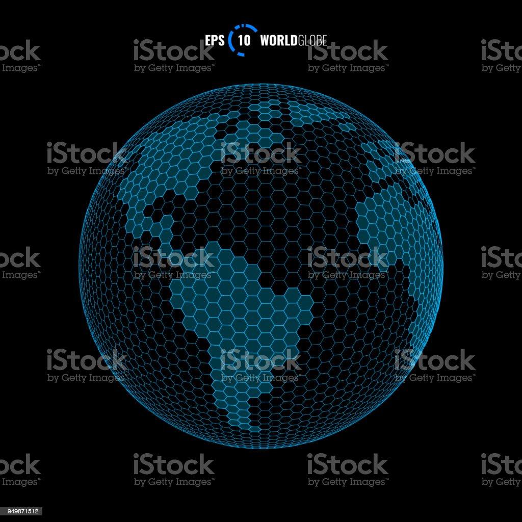 Großartig Weltkugel 3d Sammlung Von Vektor Lizenzfreies Vektor Stock Vektor Art Und