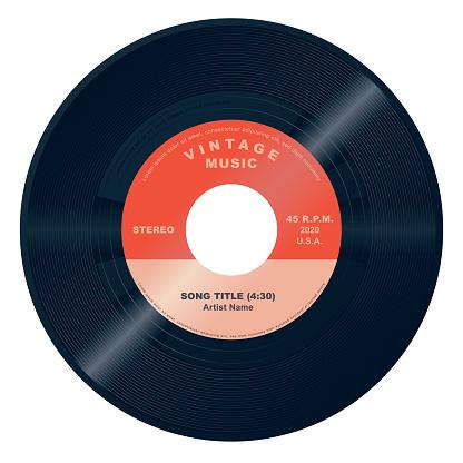 Vector 45 Vinyl Record