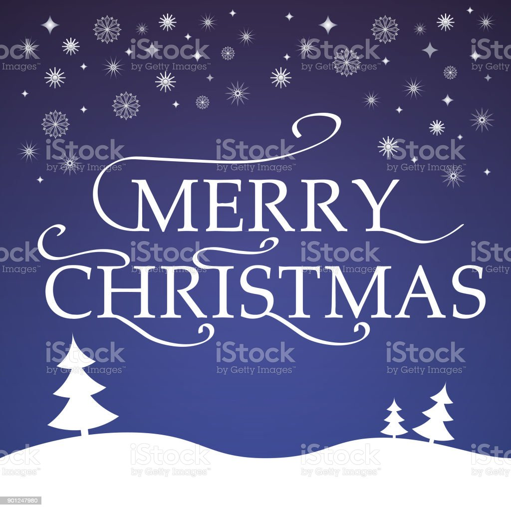 Vector A Banner With An Inscription Merry Christmasdesign Element