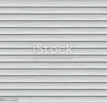 istock Vector Abstract Background. Light-colored Wooden Siding 1175301174