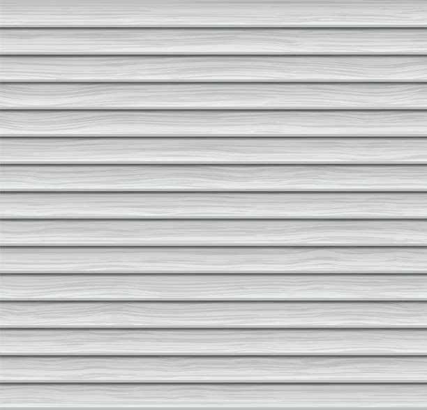 Vector Abstract Background. Light-colored Wooden Siding vector art illustration