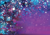 Vector abstract violet sparkle, glitter background.