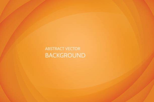 vector abstract background - orange color stock illustrations