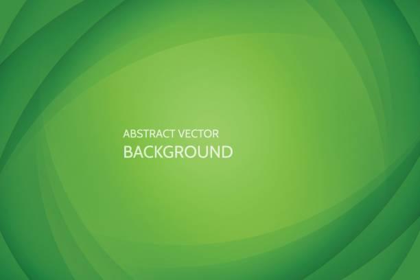 stockillustraties, clipart, cartoons en iconen met vector abstracte achtergrond - groene kleuren