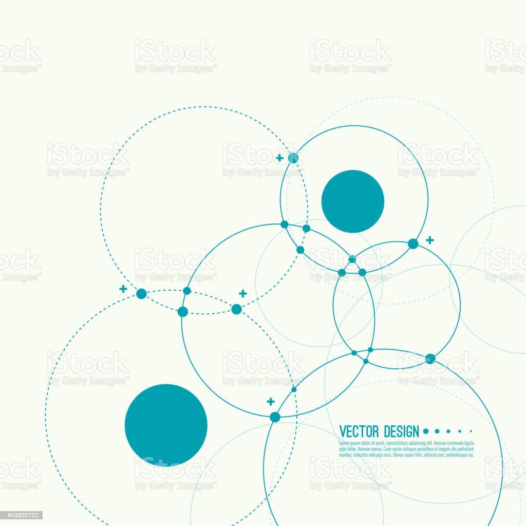 Vector abstracto fondo. ilustración de vector abstracto fondo y más vectores libres de derechos de calle de empalme libre de derechos