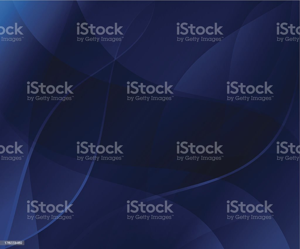 vector abstract background - wavy vector art illustration