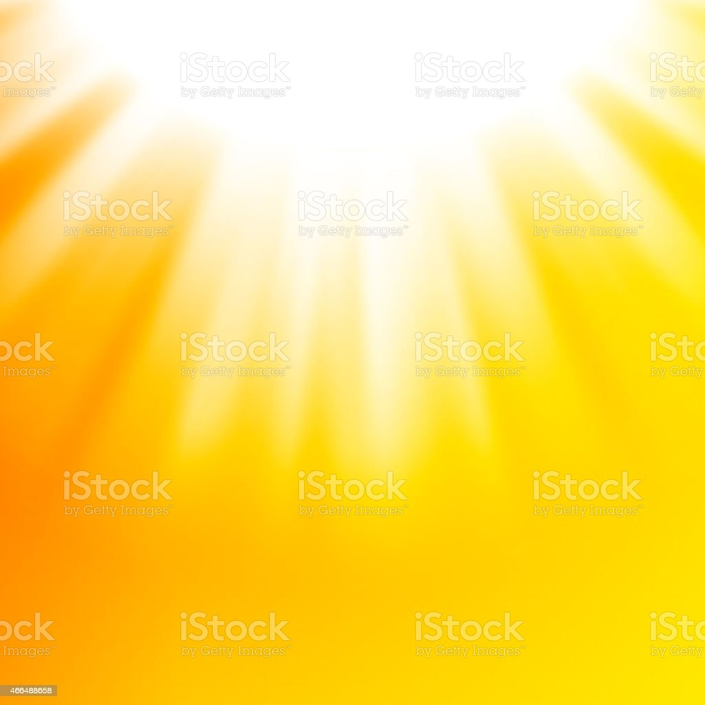 Vector abstract background with sun vector art illustration