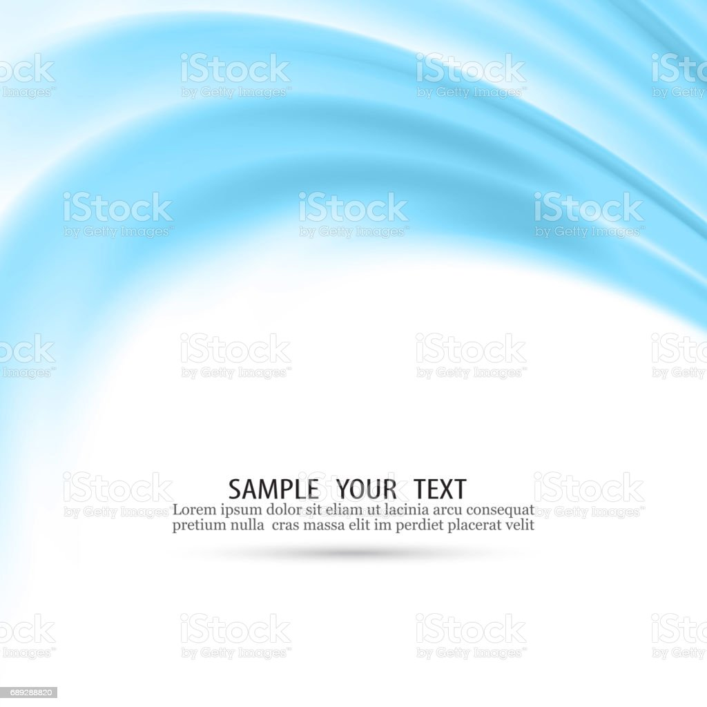 Vector abstract blue waves background Vector eps10 vector art illustration