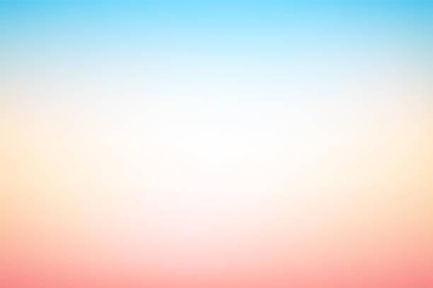 wektor abstrakcyjny rozmazany pastelowy kolorowy miękki gradient tła - pastelowy kolor stock illustrations