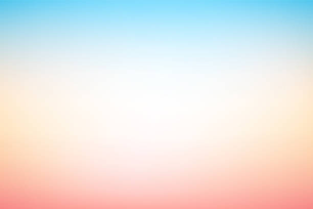 Vector abstract blurry pastel colored soft gradient background Vector abstract blurry pastel colored soft gradient background pastel colored stock illustrations