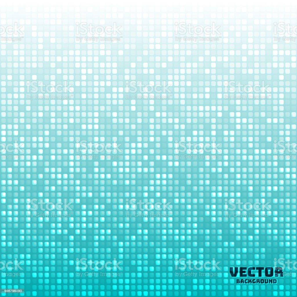Ilustración De Azul Claro De Vector Abstracto Brillante Mosaico