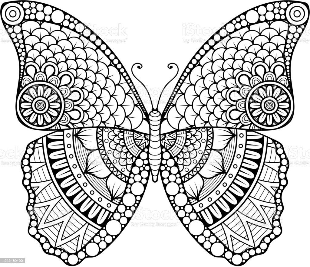 Vector Abstract Butterfly Stock Illustration - Download ...