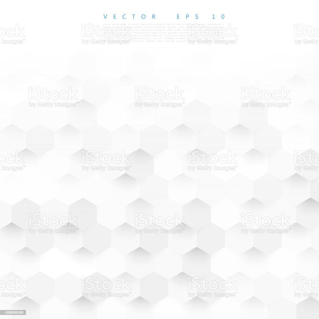 Vector abstract color 3d hexagonal. vector art illustration