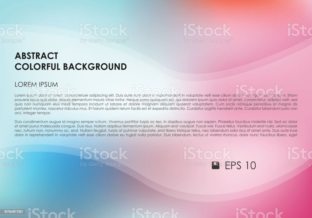 Vector abstract colorful background in pink and cyan color royalty-free vector abstract colorful background in pink and cyan color stock vector art & more images of abstract