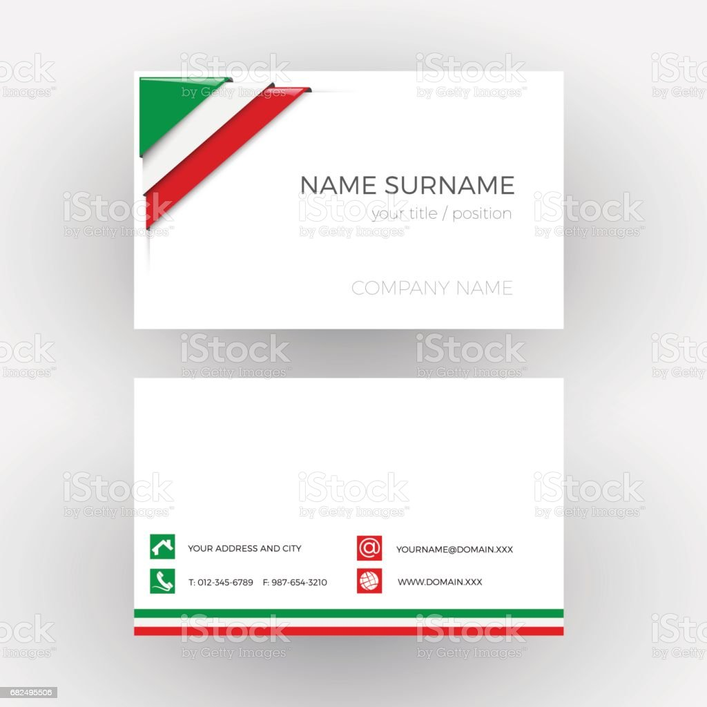 Vector abstract corner with italian and mexican flag business card vector abstract corner with italian and mexican flag business card royalty free vector abstract colourmoves