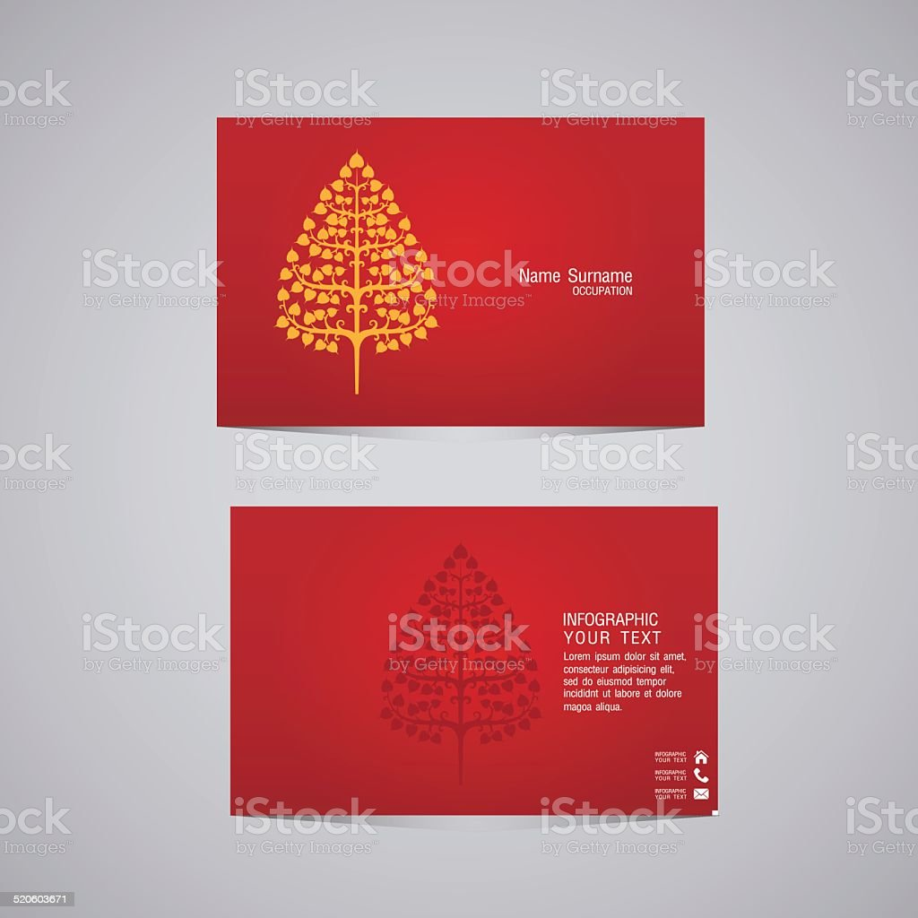 Vector abstract creative business cards vector art illustration