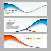 Vector abstract design banner . A set of banner web templates. Eps10 vector.