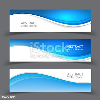 istock Vector abstract design banner template.vector illustration 922734954