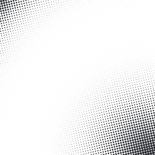 vector abstract dotted halftone texture - half tone stock illustrations, clip art, cartoons, & icons